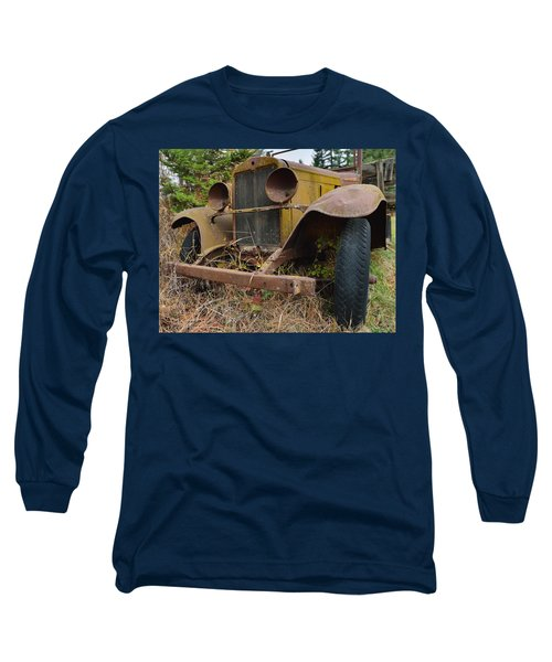 Antique Pickup Truck Long Sleeve T-Shirt