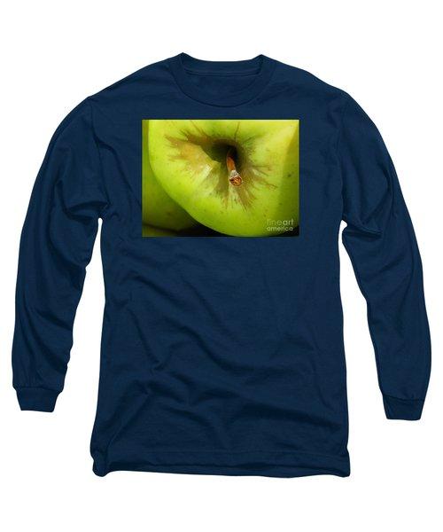 Apple Long Sleeve T-Shirt by Sarah Loft