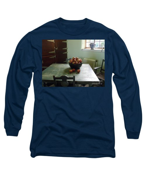 Apples Long Sleeve T-Shirt by Valerie Reeves