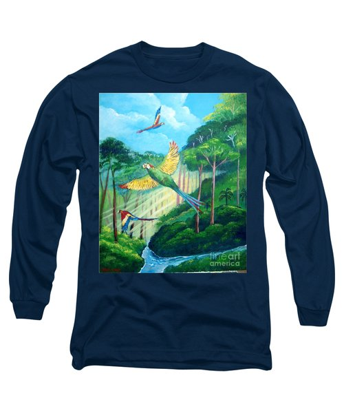 Aras On The Forest Long Sleeve T-Shirt