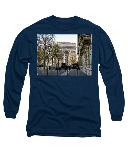 Arc De Triomphe Paris Long Sleeve T-Shirt