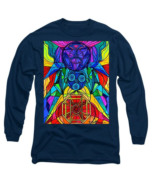 Arcturian Conjunction Grid Long Sleeve T-Shirt