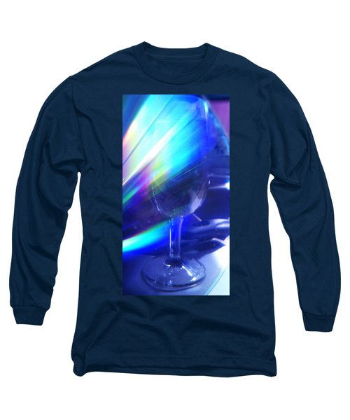 Long Sleeve T-Shirt featuring the photograph Art Glass by Martin Howard