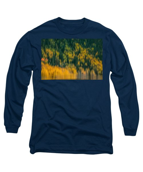Long Sleeve T-Shirt featuring the photograph Aspen Abstract by Ken Smith