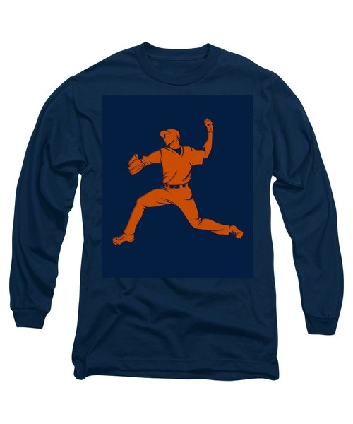 Astros Shadow Player1 Long Sleeve T-Shirt