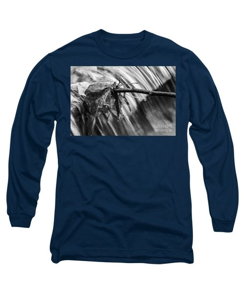 Long Sleeve T-Shirt featuring the photograph At The Edge by JT Lewis