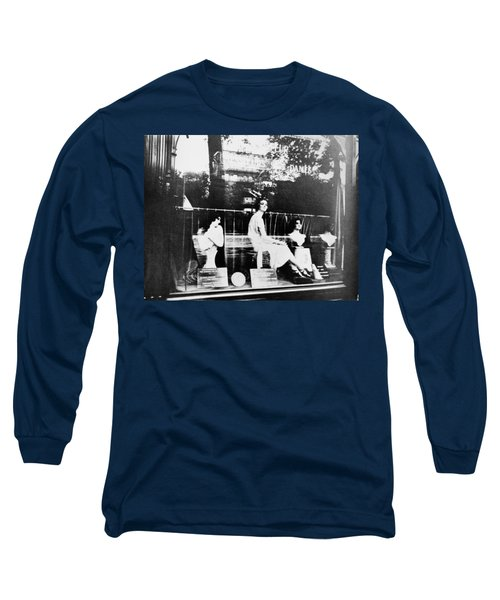 Atget Hairdresser, C1920 Long Sleeve T-Shirt by Granger
