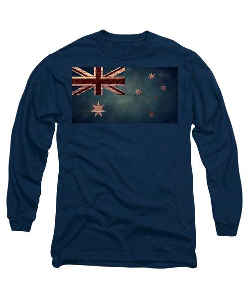 Australian Flag I Long Sleeve T-Shirt
