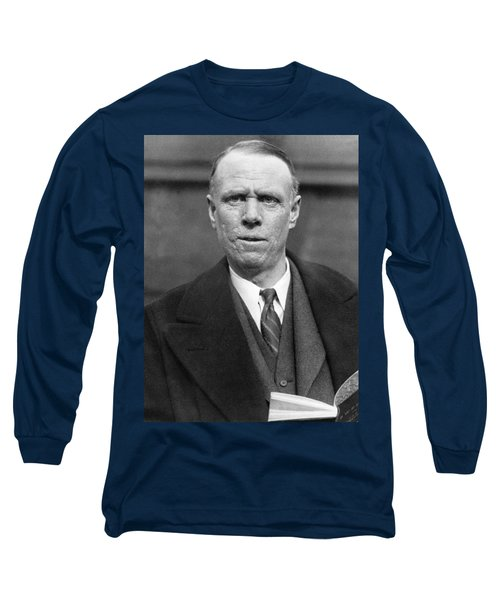 Author Sinclair Lewis Long Sleeve T-Shirt