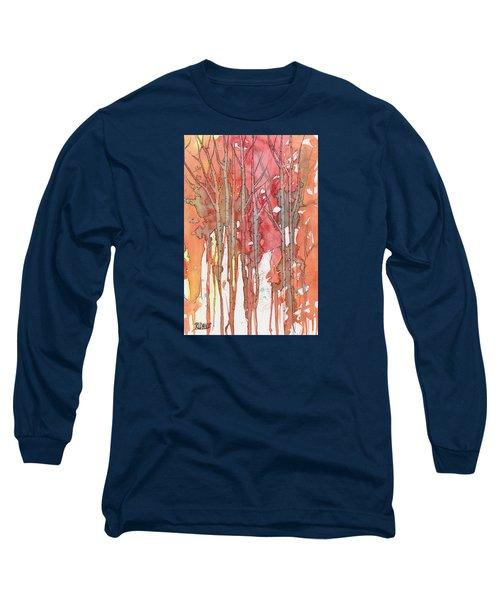 Autumn Abstract No.1 Long Sleeve T-Shirt