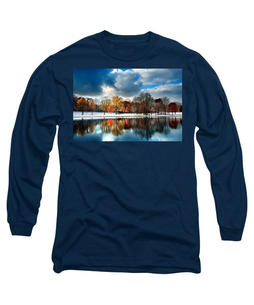 Autumn Finale Long Sleeve T-Shirt by Rob Blair