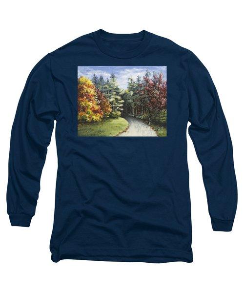Autumn In The Arboretum Long Sleeve T-Shirt