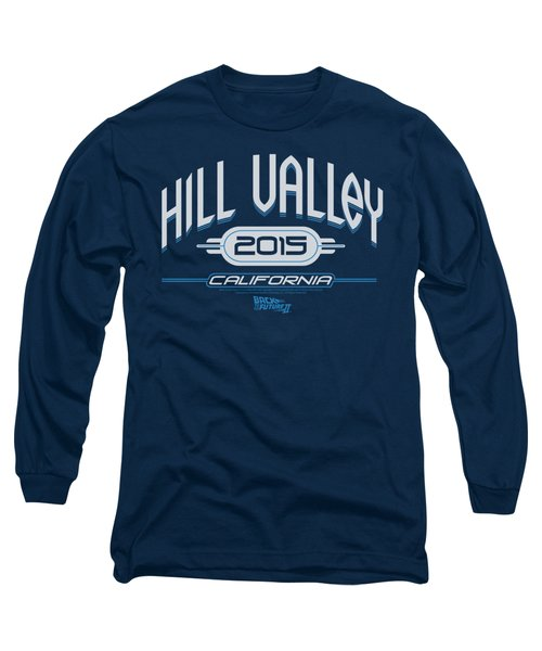 Back To The Future II - Hill Valley 2015 Long Sleeve T-Shirt