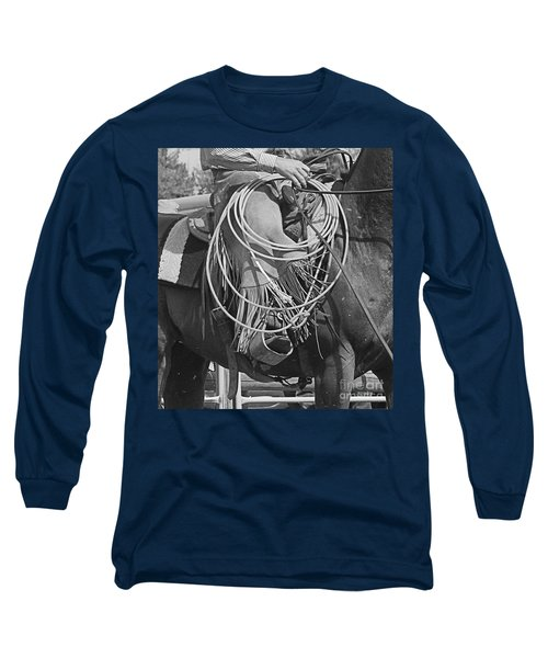 Long Sleeve T-Shirt featuring the photograph Backing Up by Ann E Robson