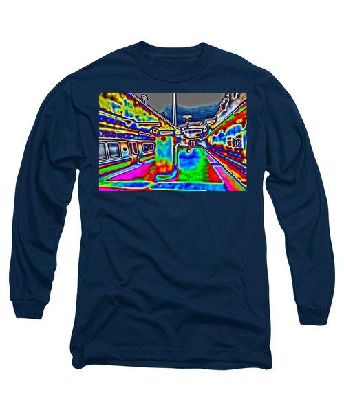 Long Sleeve T-Shirt featuring the photograph Balboa Park by Nick David