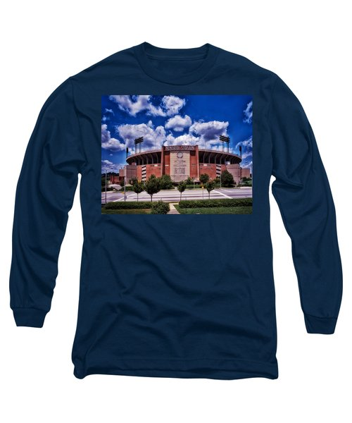 Baltimore Memorial Stadium 1960s Long Sleeve T-Shirt by Mountain Dreams