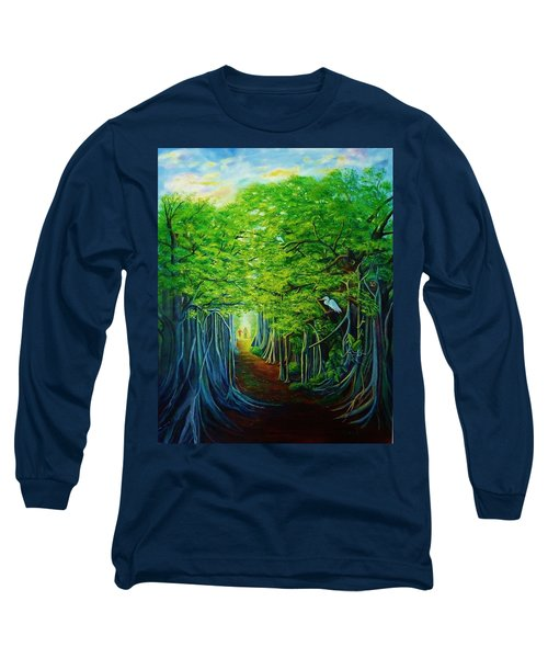 Banyan Walk Long Sleeve T-Shirt