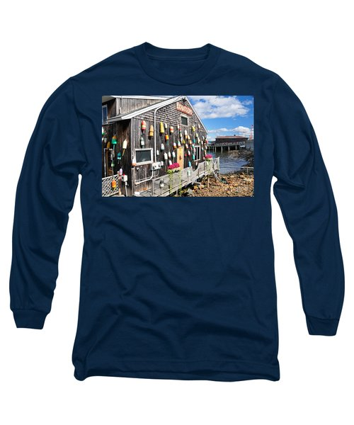 Bar Harbor Restaurant Long Sleeve T-Shirt