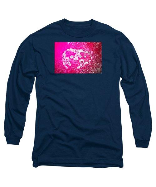 Barnacle Heart Long Sleeve T-Shirt by Cynthia Lagoudakis
