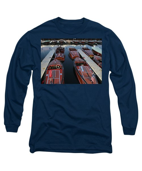 Barrelbacks At Night Long Sleeve T-Shirt