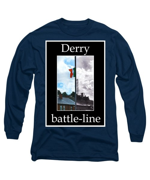 Battleline Long Sleeve T-Shirt by Nina Ficur Feenan
