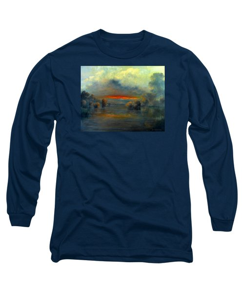 Bayou Evening 22x28 Long Sleeve T-Shirt