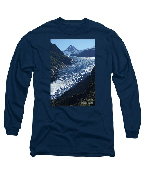 Bear Glacier Long Sleeve T-Shirt by Stanza Widen