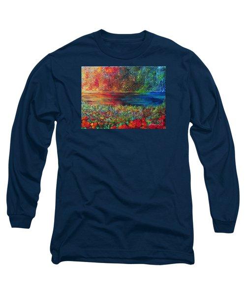 Beautiful Day Long Sleeve T-Shirt by Teresa Wegrzyn