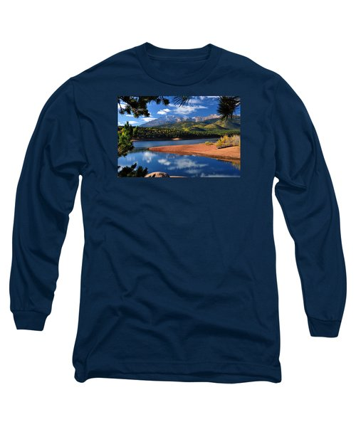 Beautiful Pikes Peak At Crystal  Long Sleeve T-Shirt