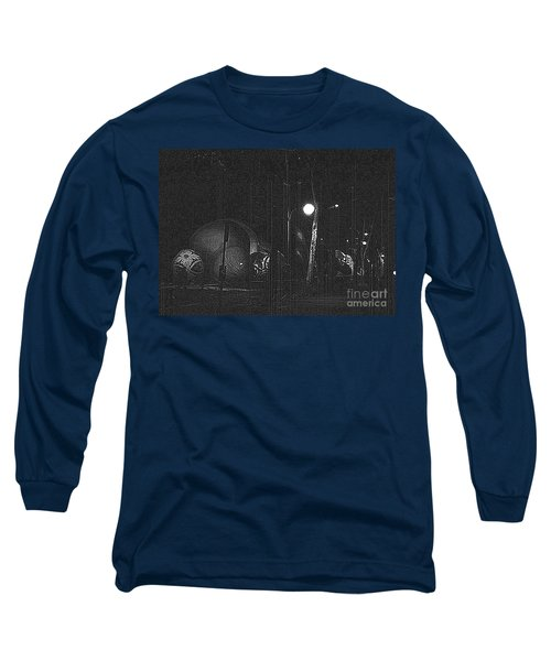 Before The Big Parade Long Sleeve T-Shirt by Steven Macanka