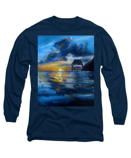 Belizean Sunrise Long Sleeve T-Shirt