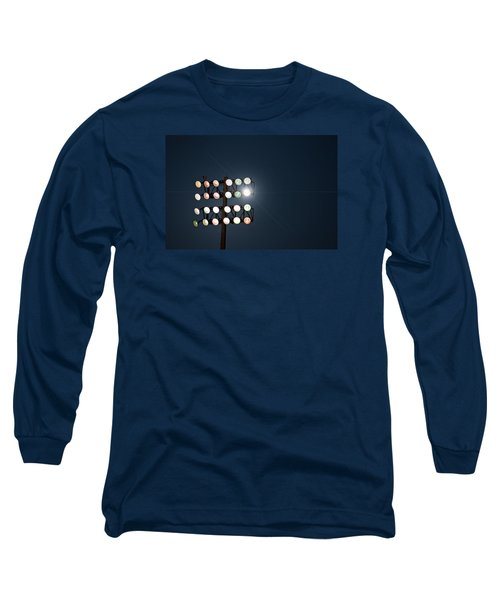 Beneath Friday Night Lights Long Sleeve T-Shirt by Trish Mistric