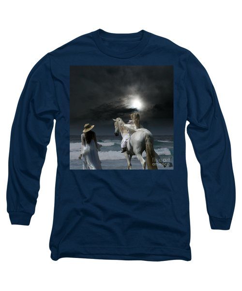 Beneath The Illusion In Colour Long Sleeve T-Shirt