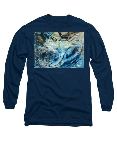 Beneath The Surface Long Sleeve T-Shirt by Valerie Travers