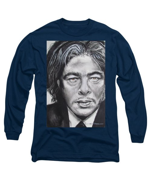 Benicio Del Toro Long Sleeve T-Shirt