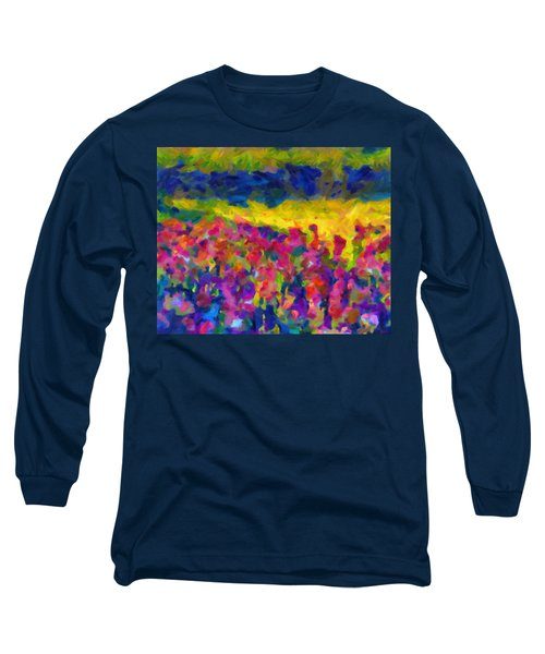 Long Sleeve T-Shirt featuring the painting Beyond A Simple Love by Joe Misrasi