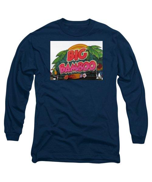 Big Bamboo Long Sleeve T-Shirt by Alec Drake