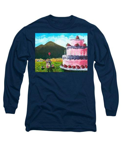 Big Birthday Surprise Long Sleeve T-Shirt