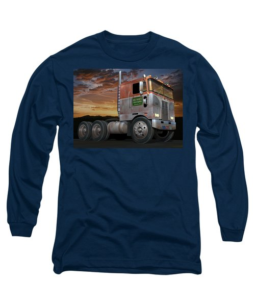 Big Bob's Cabover Long Sleeve T-Shirt by Stuart Swartz