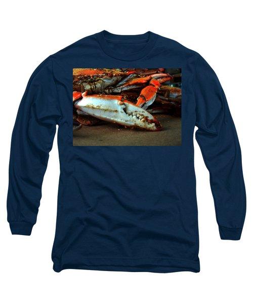 Big Crab Claw Long Sleeve T-Shirt