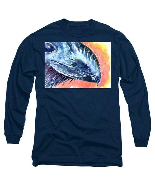 Bill Of Ani Long Sleeve T-Shirt by Ashley Kujan