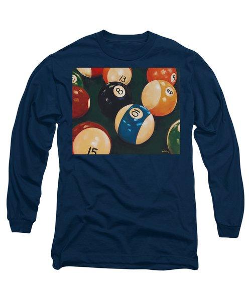 Billiards Long Sleeve T-Shirt