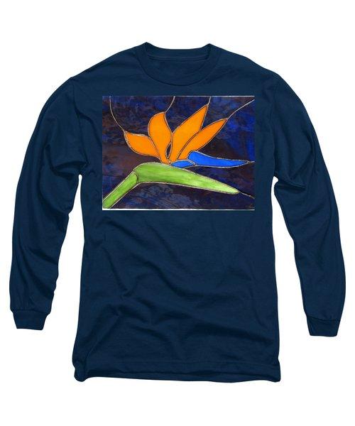 Bird Of Paridise Long Sleeve T-Shirt
