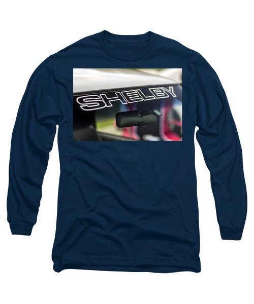 Birthday Car - Shelby Windshield Long Sleeve T-Shirt