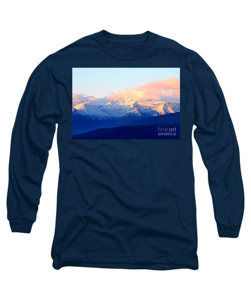 Bitterroot Mountains Montana Long Sleeve T-Shirt by Joseph J Stevens
