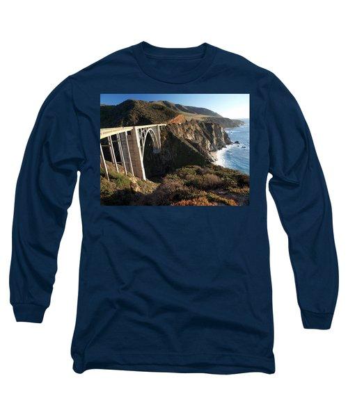Bixby Bridge Afternoon Long Sleeve T-Shirt