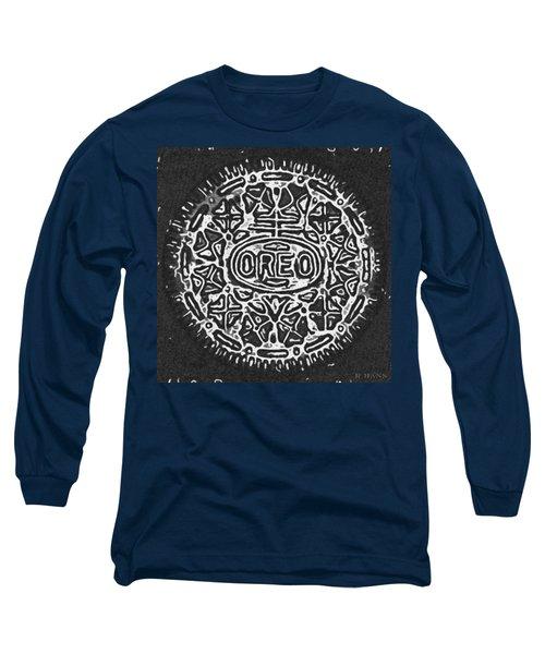 Black And White Oreo Long Sleeve T-Shirt