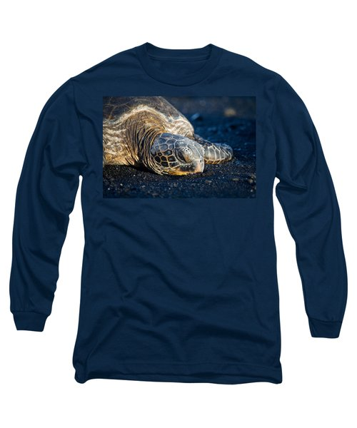 Black Sand Nap Long Sleeve T-Shirt
