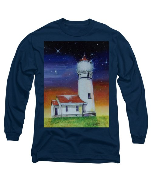 Blanco Lighthouse Long Sleeve T-Shirt by Thomas J Herring