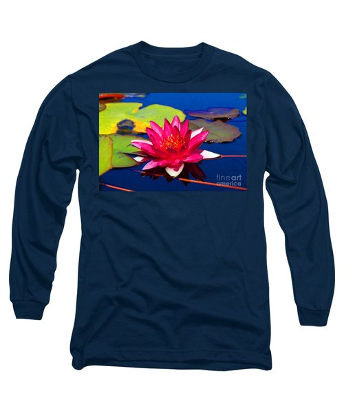 Blooming Lily Long Sleeve T-Shirt